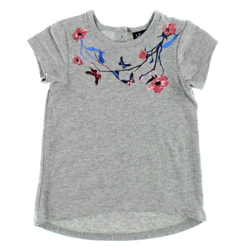 Monaco Flowers T-Shirt 3-24m