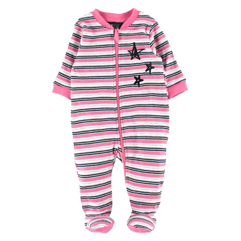 Kitten Striped Pajamas 0-30m