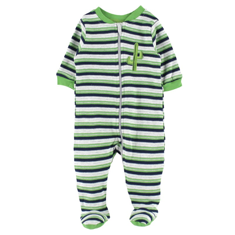 Cactus Striped Pajamas 0-30m