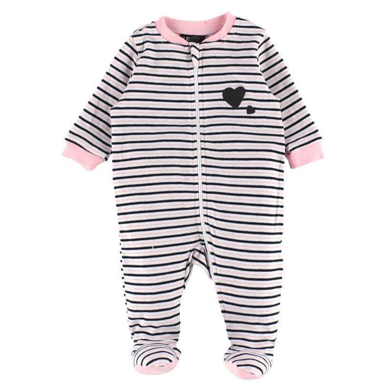 Panda Striped Pajamas 0-30m