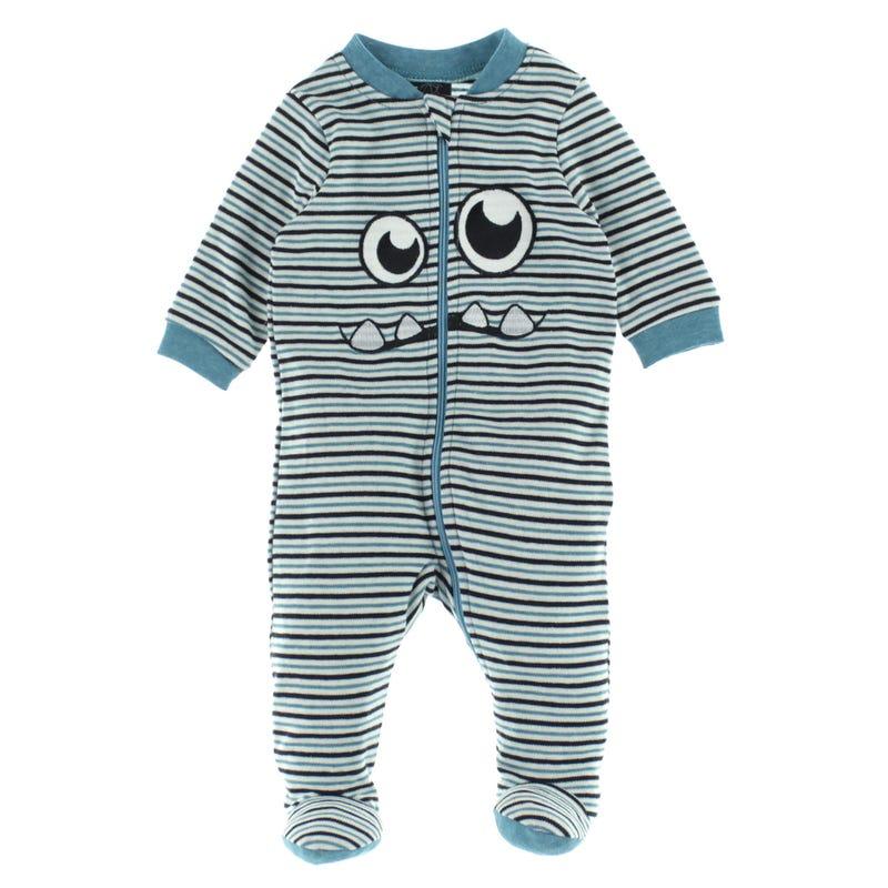 Monster Striped Pajamas 0-30m