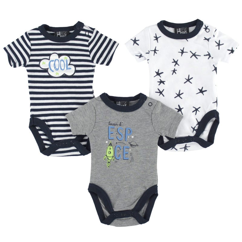 Rocket Bodysuits Set 0-30m