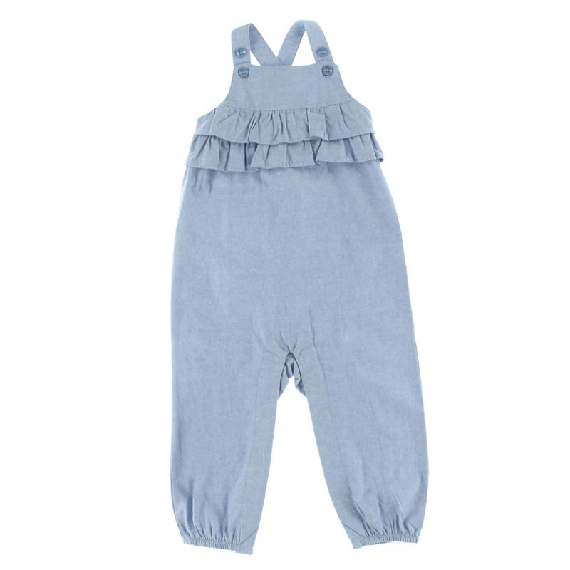 Fun Chambray Jumpsuit 3-24m