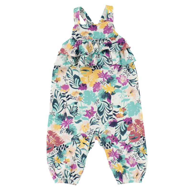 Fun Flower Jumpsuit 3-24m