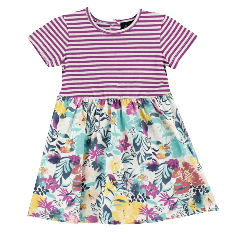 Fun Flower Dress 3-24m