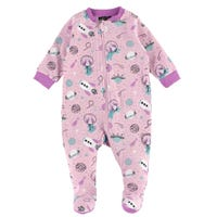 Cats Printed Pajamas 0-30m