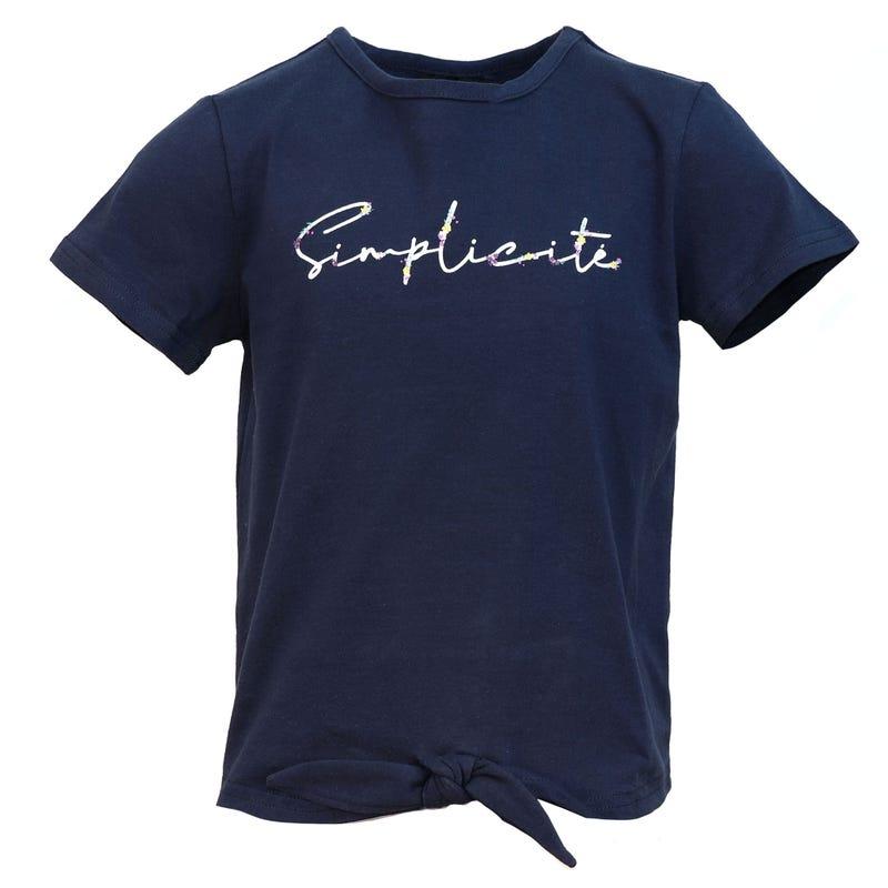 T-Shirt Simplicité Vacances 2-8ans