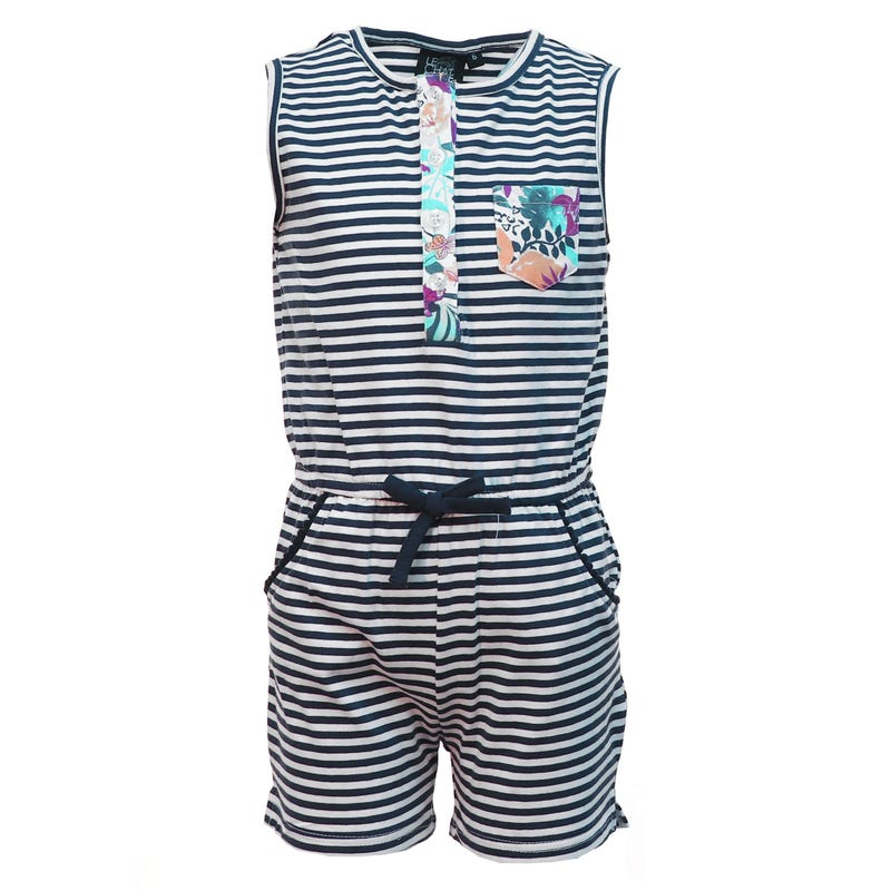 Vacation Striped Romper 2-8