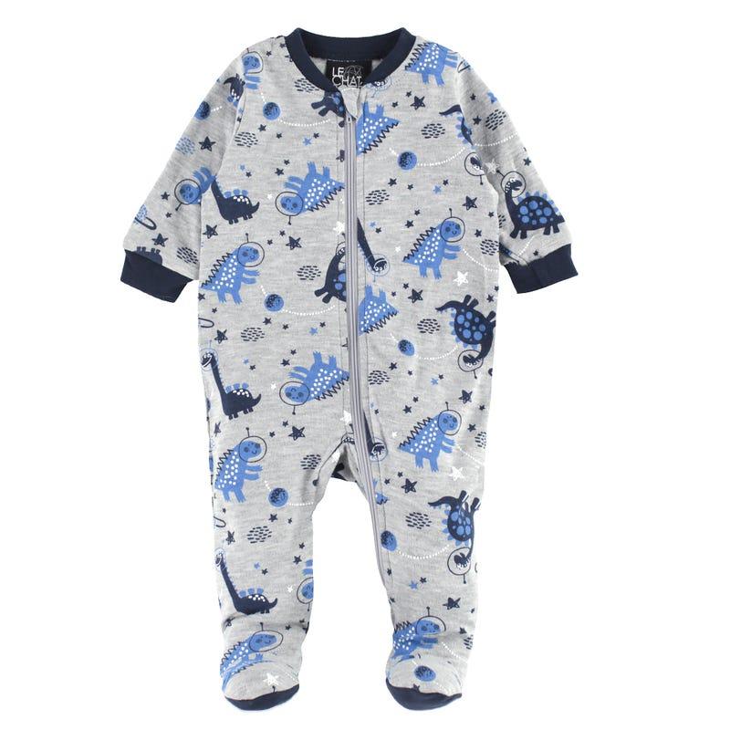 Dinosaurs Printed Pajamas 0-30m