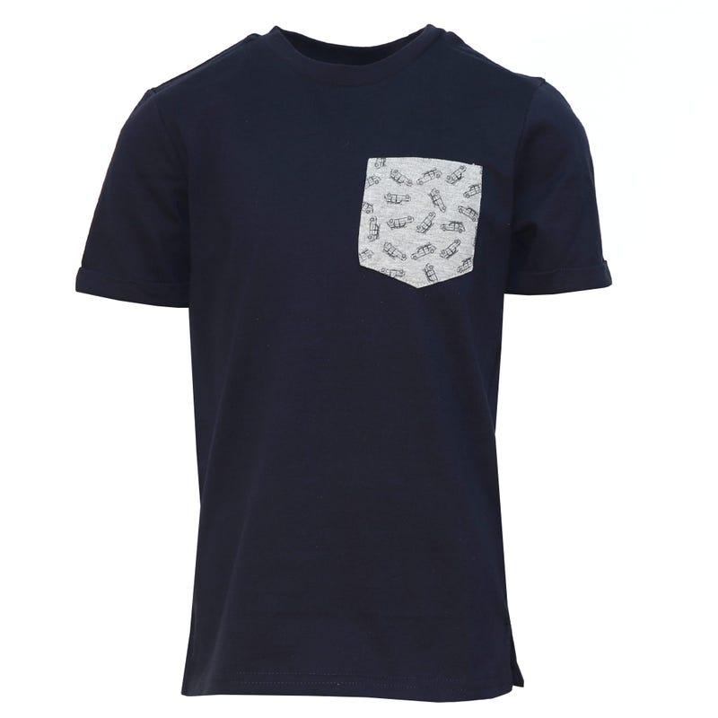 T-Shirt Poche Surf 2-8ans