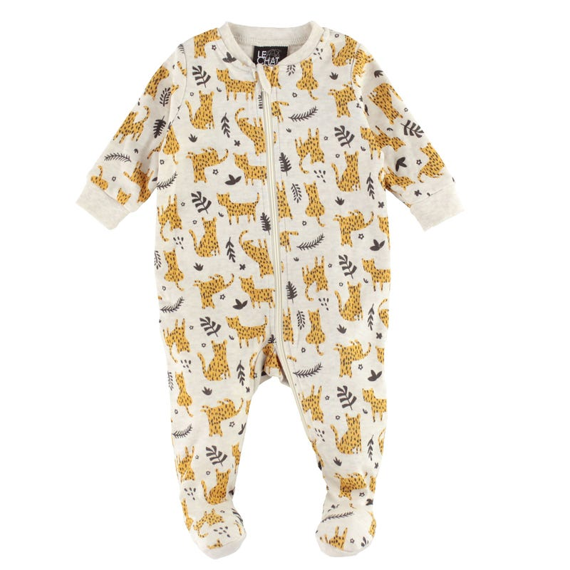 Leopard Printed Pajamas 0-30m