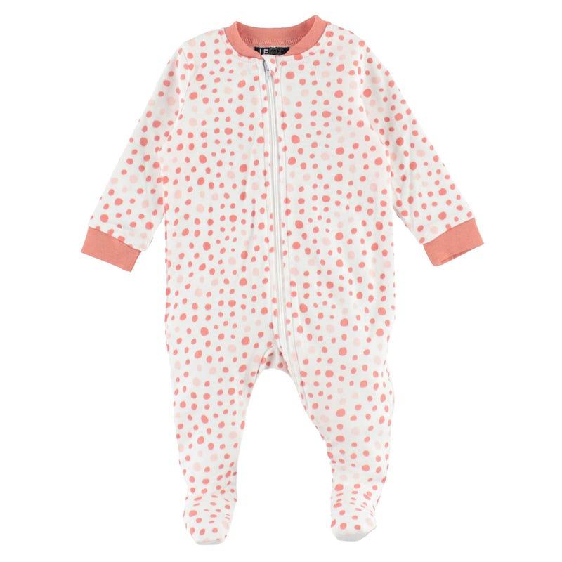 Pyjama Pois Éléphant 0-30mois