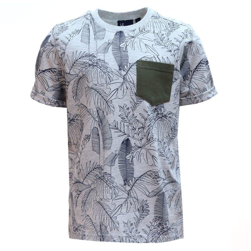 T-Shirt Poche Jungle 2-8ans