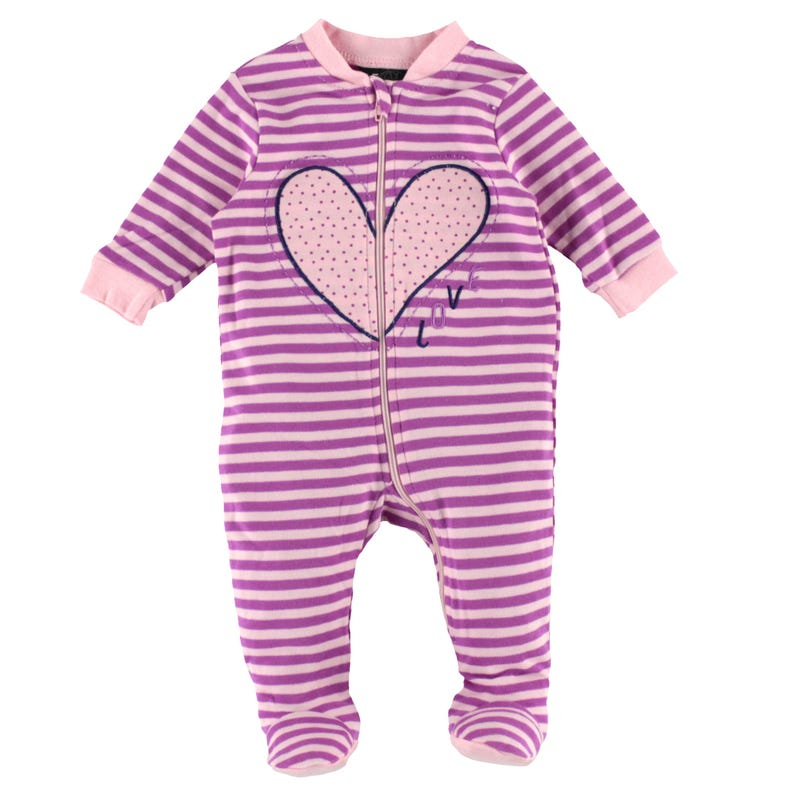 Love Striped Pajamas 0-30m