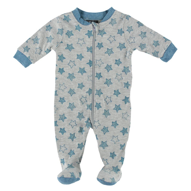 Star Printed Pajamas 0-30m