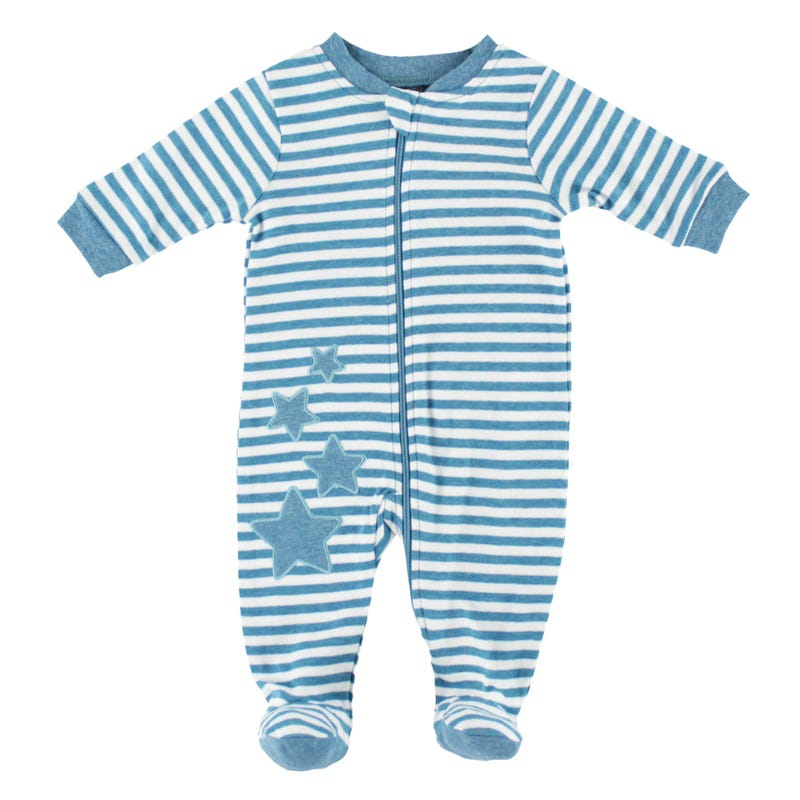 Star Striped Pajamas 0-30m