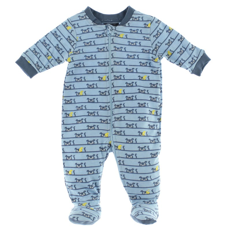 Dog Printed Pajamas 0-30m
