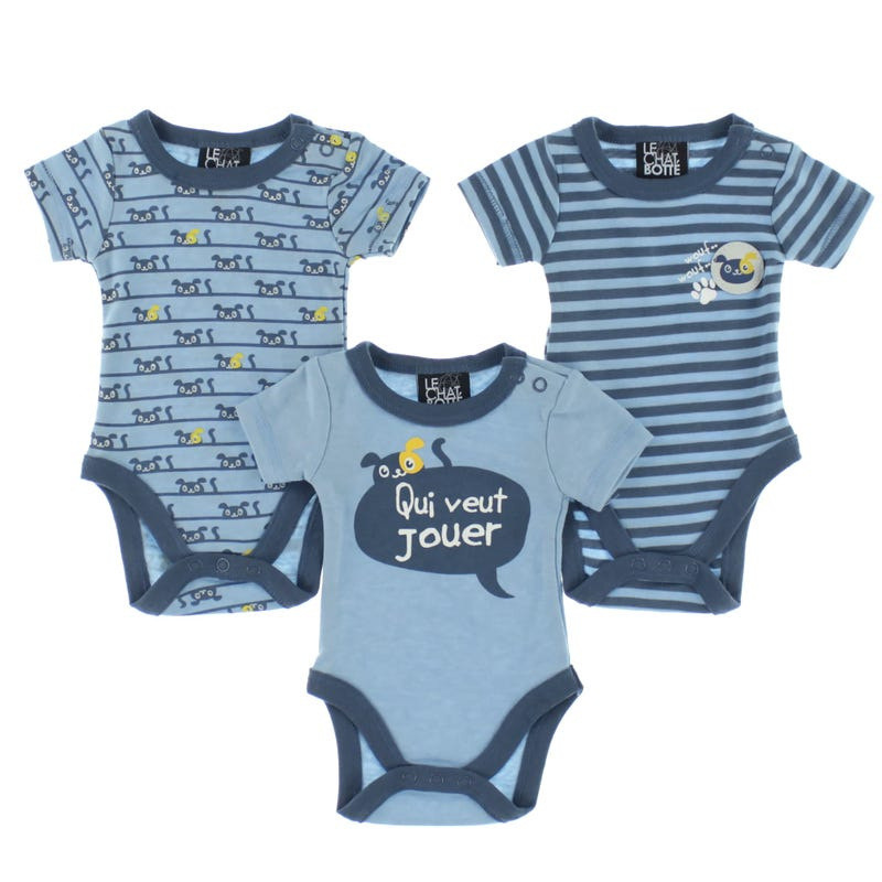 Dog Bodysuit Set 0-30m