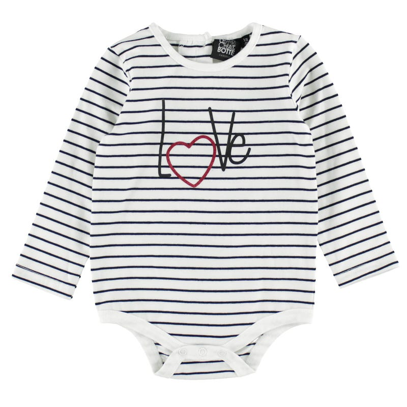 Heart Long Sleeves T-Shirt 3-24m