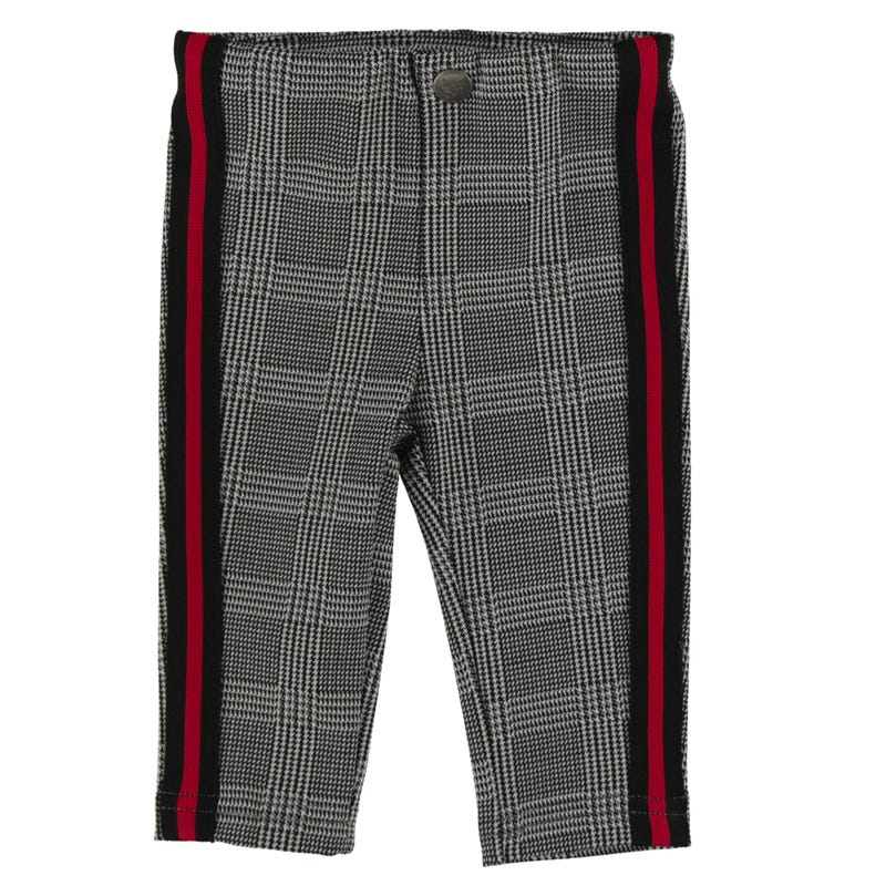 Heart Plaid Jeggings 3-24m