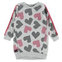 Heart Sweat Dress 3-24m