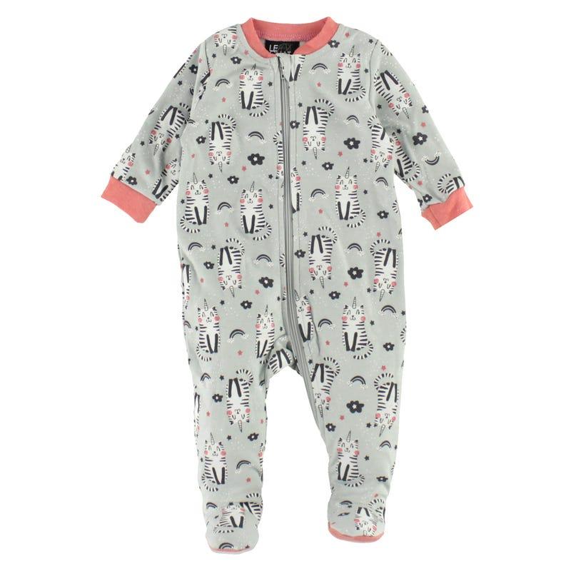 Caticorn Printed Pajamas 0-30m
