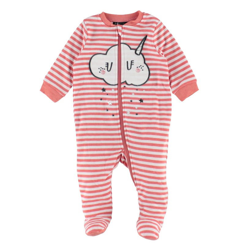 Caticorn Striped Pajamas 0-30m