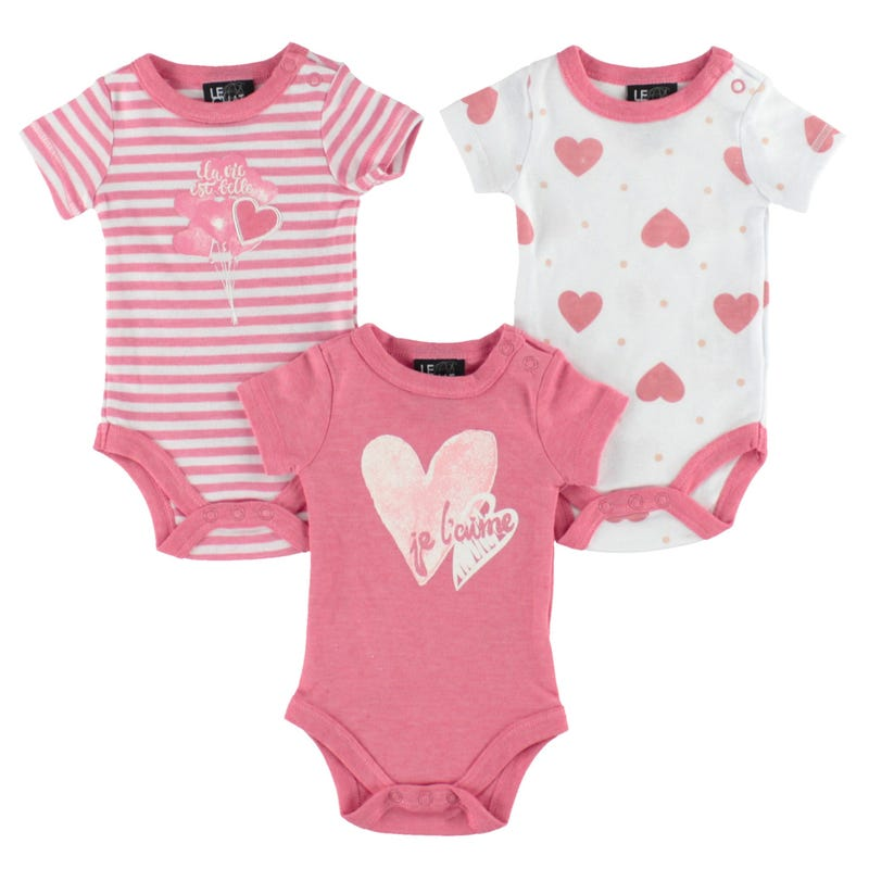 Heart Bodysuit Set 0-30m