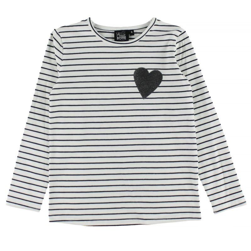 T-Shirt à Manches Longues Unique 2-8ans