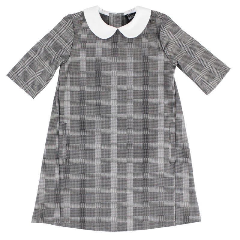 Unique Plaid Dress 2-8y