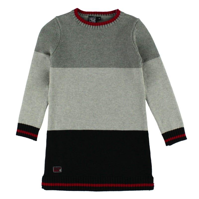 Unique Sweater Dress 2-8y