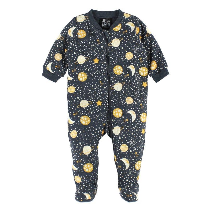 Space Printed Pajamas 0-30m