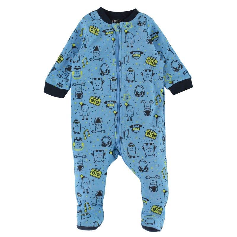 Monster Printed Pajamas 0-30m