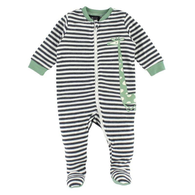 Giraffe Striped Pajamas 0-30m
