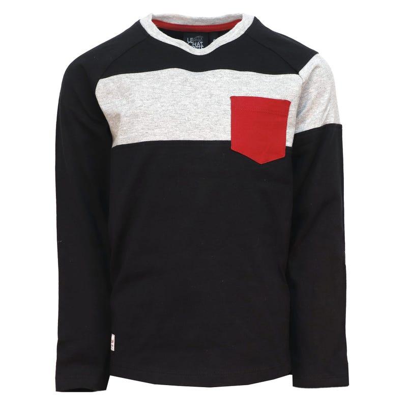 T-Shirt Raglan Nordique 2-8ans