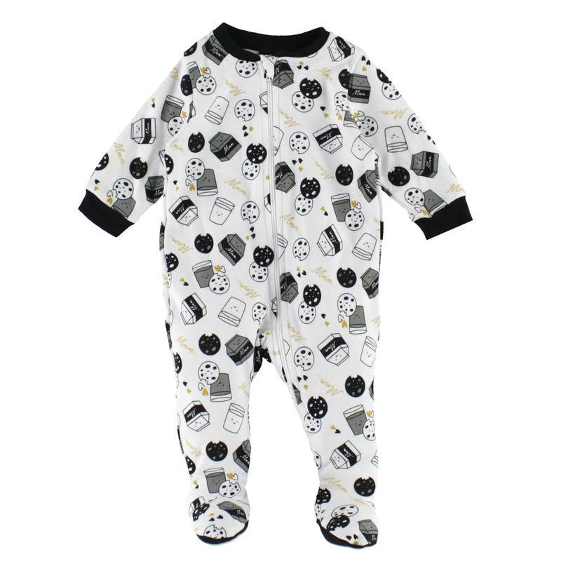 Cookie Printed Pajamas 0-30m