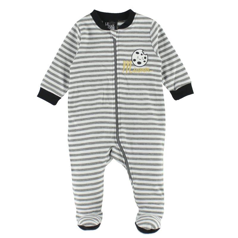 Cookie Striped Pajamas 0-30m