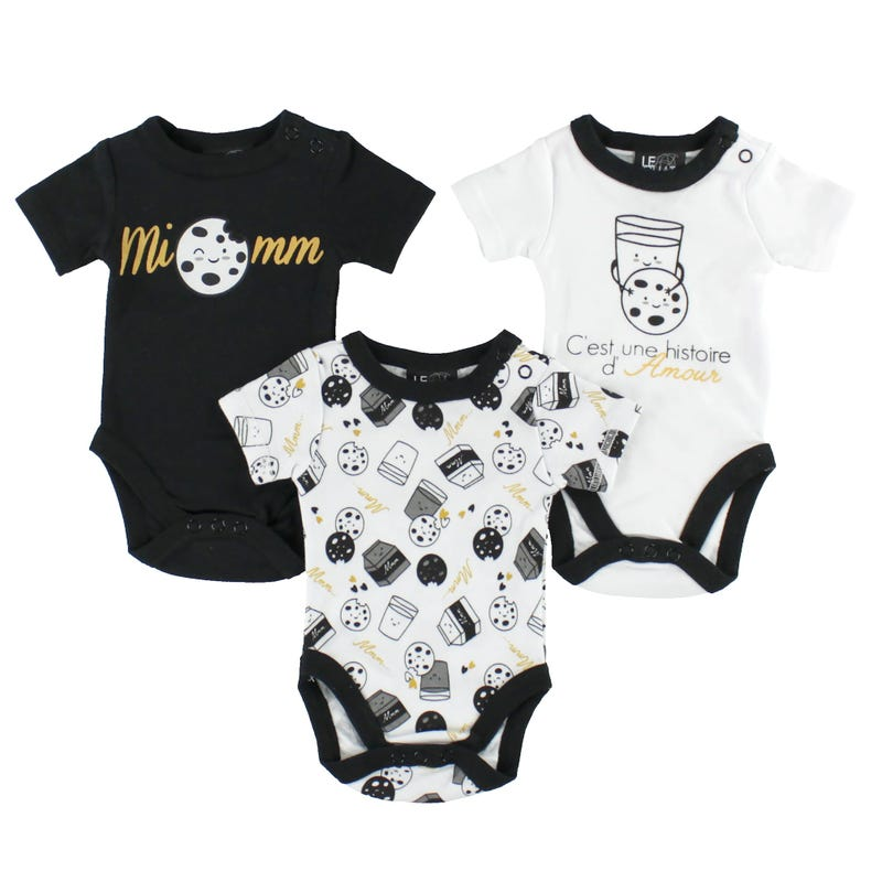 Cookie Bodysuit Set 0-30m