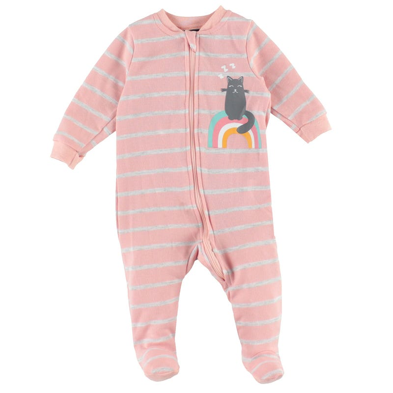 Pyjama Rayé Chat 0-30mois