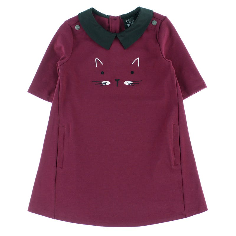 Robe Chat Vintage 2-8ans