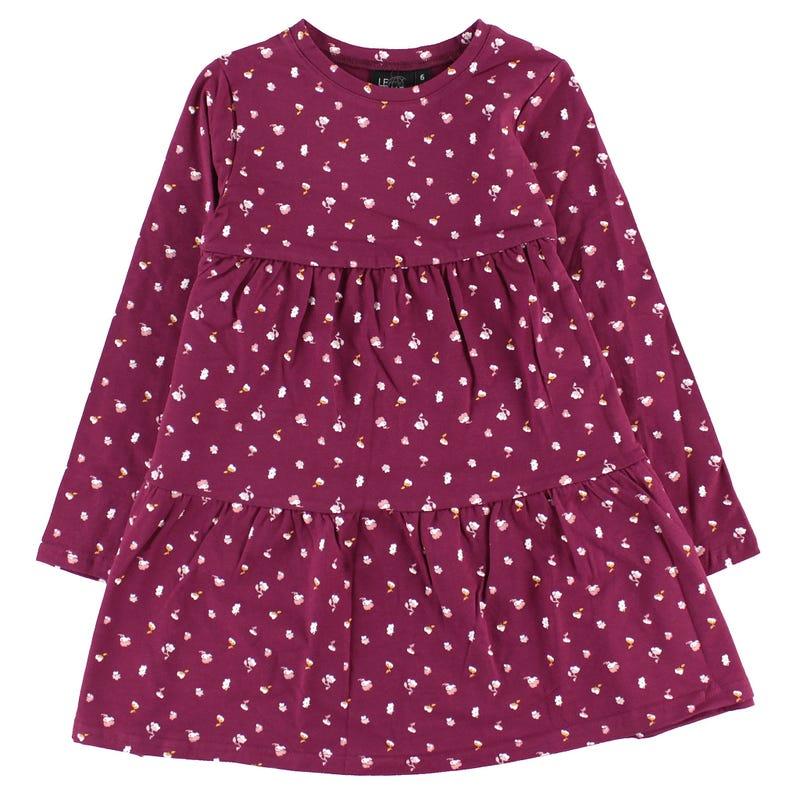 Robe Fleurs Vintage 2-8ans