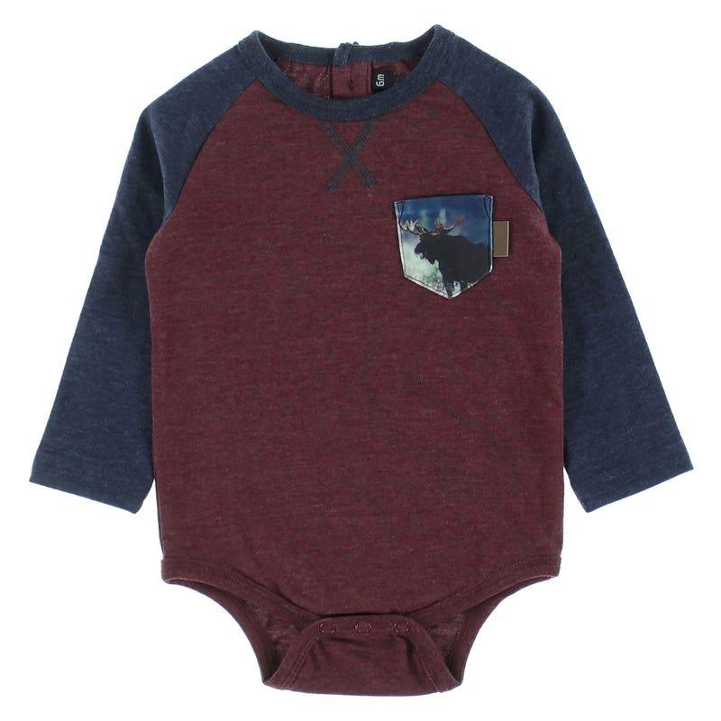 T-Shirt 1 pièce Orignal Montagne