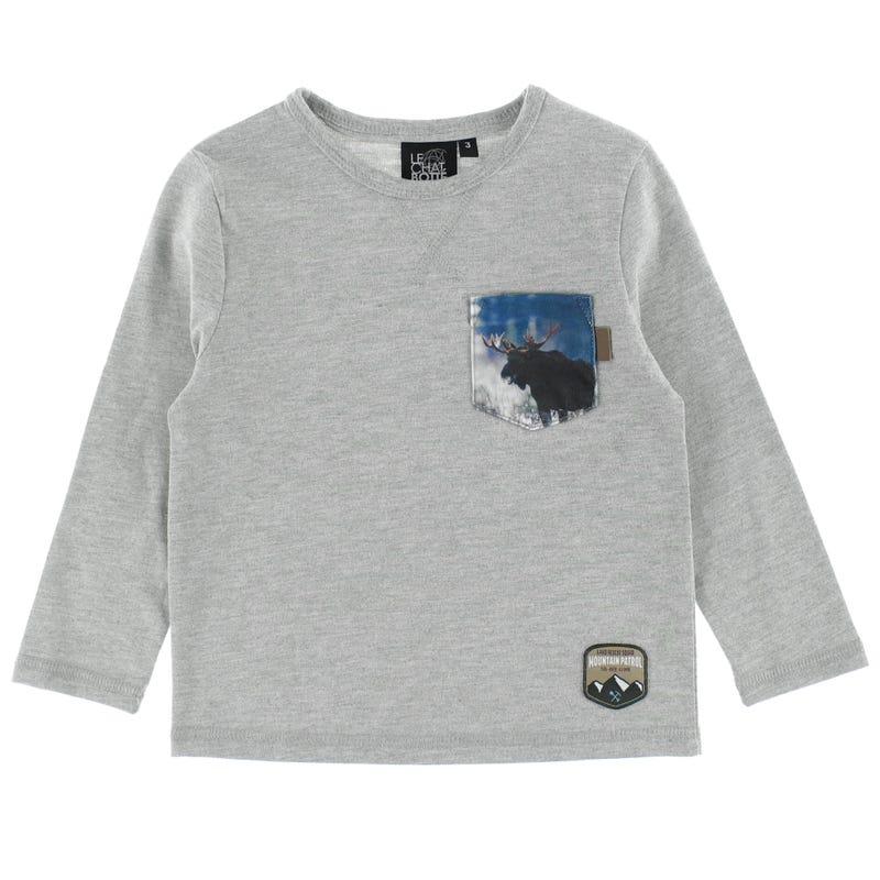 T-Shirt Poche Orignal Parc 2-8ans
