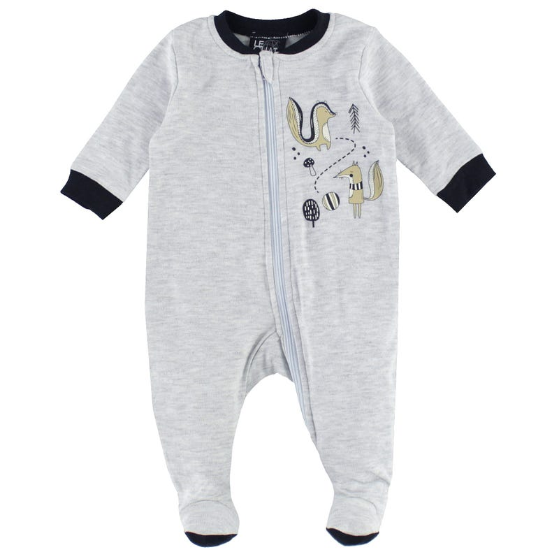 Fox Solid Pajamas 0-30m