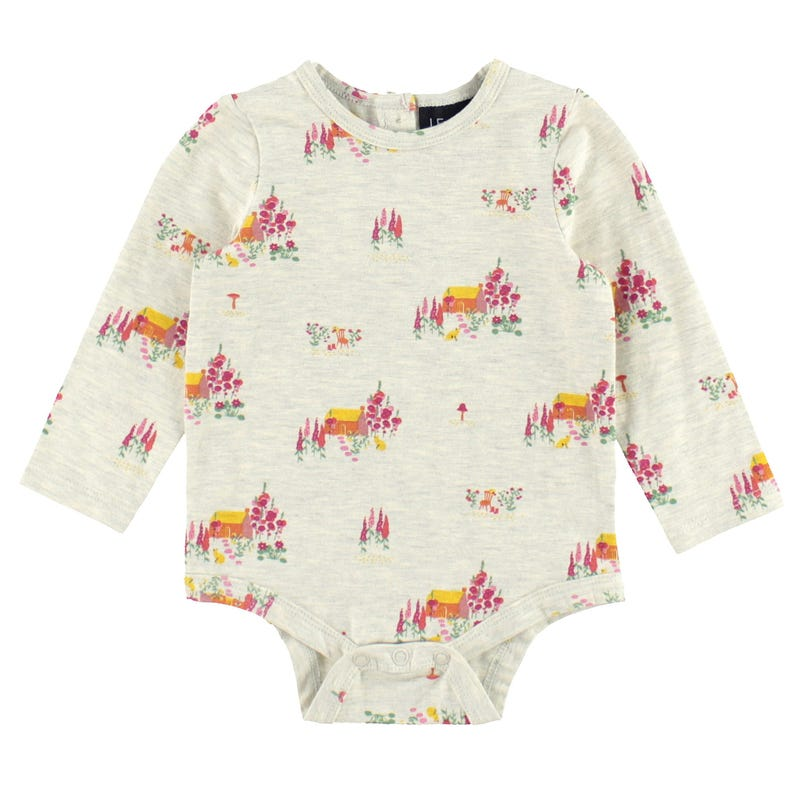 T-Shirt Une Pièce Maison Chaton 3-24mois