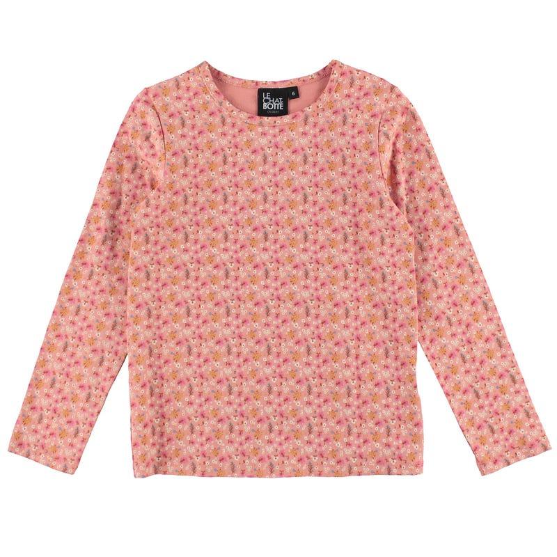 T-Shirt Fleurs Jardin 2-8ans
