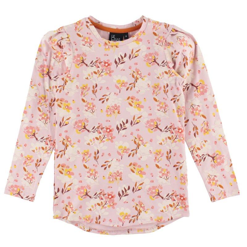 T-Shirt Long Jardin 2-8ans