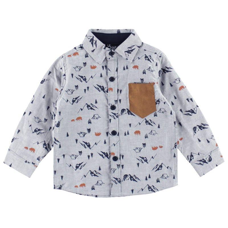Boreal Oxford Shirt 3-24m