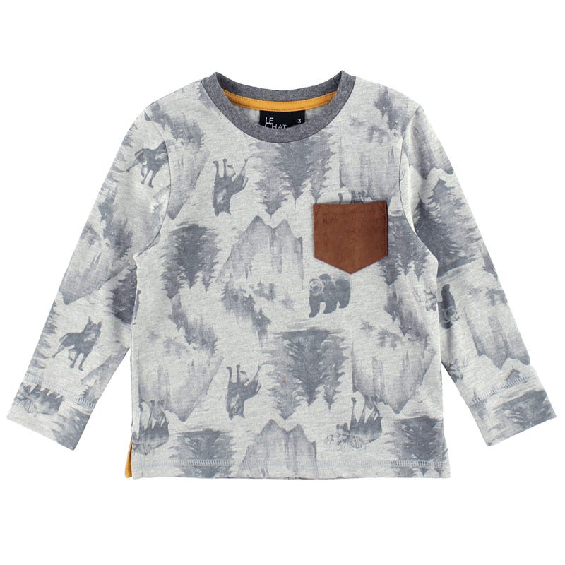 T-Shirt Sapins Forêt 2-8ans