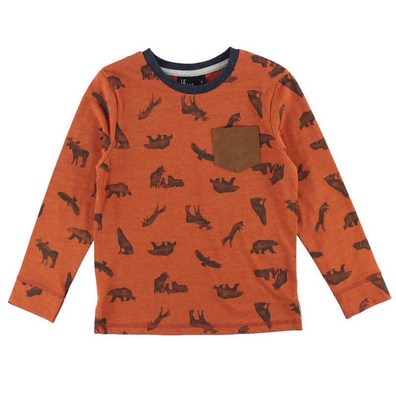 T-Shirt Forêt 2-8ans